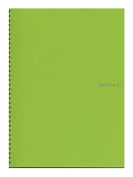 Fabriano EcoQua Notebooks spiral blank lime 21cm x 30cm .