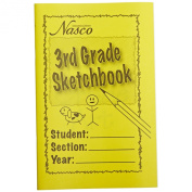 Nasco Art Activity Student 25 Pages Sketchbook, Grades 3
