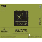 Canson XL Recycled Bristol Pads 36cm . x 43cm . pad of 25 sheets fold-over