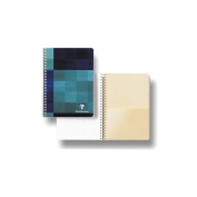 Clairefontaine Classic Wirebound Notebook with Pocket Dividers 15cm . x 21cm .