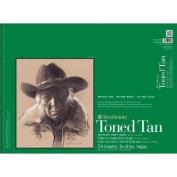 Strathmore Toned Tan Sketch Pad 18X24