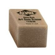 Small Art Gum Pencil Eraser 2 Pack
