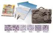Scratch Art Shade-Tex® Rubbing Plates set of 6 nature set