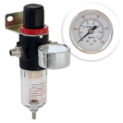 Airbrush Air Compressor Regulator with Water-Trap filter