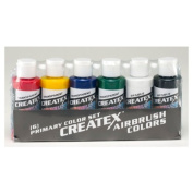 Createx 60ml Set Of 6 Primary Colours