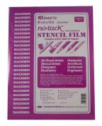 Badger Air-Brush Co. 46-1 Stencil Film