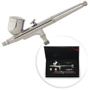 Dual-Action 7cc Gravity-feed Airbrush 3 Tip Set