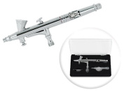 Dual-Action 2cc Gravity-Feed Airbrush Set w/ MAC Valve - 0.2mm Nozzle