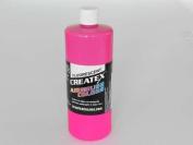 0.9l (950ml) of Createx Fluorescent Magenta #5406 CREATEX AIRBRUSH colours Hobby Craft Art PAINT
