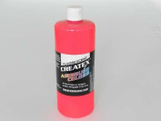 0.9l (950ml) of Createx Fluorescent Red #0.9l CREATEX AIRBRUSH colours Hobby Craft Art PAINT