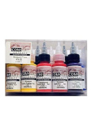 Com-Art Opaque and Transparent Airbrush Colour Kit set of 10