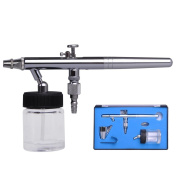 Professional 0.35mm Nozzle Dual Action High-end Bottom Feed Airbrush Design with 22cc Fluid Cup
