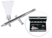 Dual-Action 4-Colour Changing Airbrush Set w/ MAC Valve - 3 Tip Set
