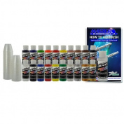 20 POPULAR CREATEX colours PAINT SET-Airbrush-Hobby-Art