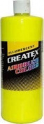3.8l of Createx Fluorescent Yellow #5405-GL CREATEX AIRBRUSH colours Hobby Craft Art PAINT