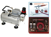 Paasche VL AIRBRUSH SET w/Air Brush Compressor