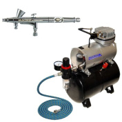 Master G40 Airbrush with TC-20T Compressor and Hose