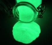 GREEN Glow in the Dark Pigment Powder 60ml