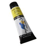 Daler Rowney System 3 Heavy Body 75ml Lemon Yellow