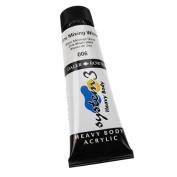 Daler-Rowney System 3 Heavy Body Acrylic 75 ml Tube - Zinc Mixing White