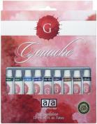 Art Advantage 12-Mililiter Tube Gouache Paint Set, 18 Colour