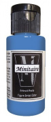 Badger Air-Brush Company, 60ml Bottle Minitaire Airbrush Ready, Water Based Acrylic Paint, Werewolf Grey