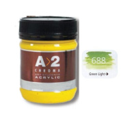 A_2 Student Acrylic 250 ml Jar - Green Light