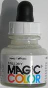 28ml Magic Colour Acrylic Ink - LUNAR WHITE