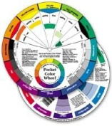 Pocket colour WHEEL-Artist Mixing Guide-Watercolour Paint