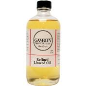 Gamblin 240ml Refined Linseed Oil