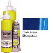 LUKAS CRYL Studio 500 ml Bottle - Phthalo Blue