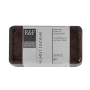 R & F Encaustic 40ml Paint, Burnt Umber