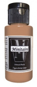 Badger Air-Brush Company, 60ml Bottle Minitaire Airbrush Ready, Water Based Acrylic Paint, Base Grey.