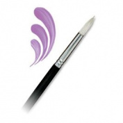 Langnickel Regis Long Handle Bristle Oil Round Brush - Artist Paint Brush - L400R-8
