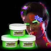 Glow Body Paint 60ml Jar - Green