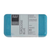 R & F Encaustic 40ml Paint, Turquoise Blue
