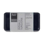 R & F Encaustic 40ml Paint, Phthalo Turquoise
