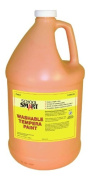 School Smart Washable Tempera Paint - Gallon - Pink