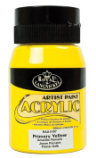Royal & Langnickel Essentials Acrylic Jar Paint, 500ml, Primary Yellow