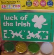 Snazaroo St. Patrick's Day Face Painting Stencil Kits