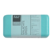 R & F Encaustic Paints, 40ml, Malachite Green