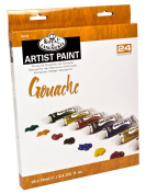 Royal & Langnickel Gouache Colour Artist Tube Paint, 12ml, 24-Pack