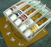 Set of 5 Traditional Chinese Watercolours