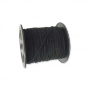Black Faux Leather Suede Ultra Microfiber Beading Cord Spool 100 Yd