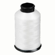 Nymo® Nylon Seed Bead Thread Size D White 0.012 Inch 0.34mm, 90ml spool, approximately 2505 yards.