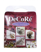 Decore' Light Amethyst Purple Self-hardening, Jewellery Craft Two-part Epoxy Clay Kit, 20 Grammes