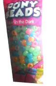 Glow in the Dark Kids Jewellery Pony Beads
