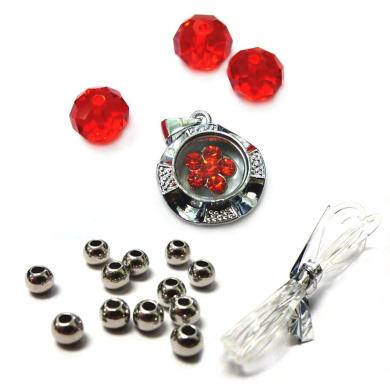 Fiona Crystal 091116-07 Spinner Charm Bracelet Kit