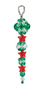 Holiday Icicle Beaded Ornaments Beaded Craft Kit Kit