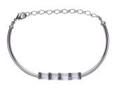 Bead Retreat Squared Away Bracelet Kit, Crystal